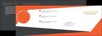 faire modele a imprimer depliant 4 volets  8 pages  texture contexture structure MIF25774