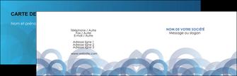 Impression carte de visite avec pelliculage  Carte commerciale de fidélité devis d'imprimeur publicitaire professionnel Carte de visite Double - Paysage