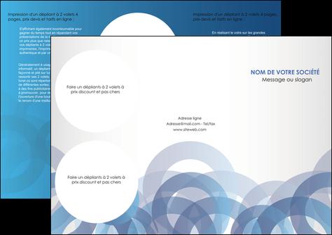 imprimer depliant 3 volets  6 pages  texture contexture structure MLGI25898