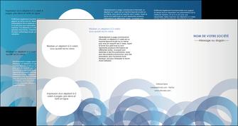impression depliant 4 volets  8 pages  texture contexture structure MLGI25916