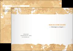 modele en ligne depliant 2 volets  4 pages  texture structure contexture MLIG25920