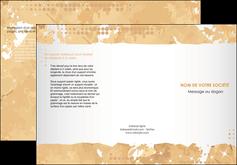 Commander modele plaquette premiers secours  modèle graphique pour devis d'imprimeur Dépliant 6 pages pli accordéon DL - Portrait (10x21cm lorsque fermé)