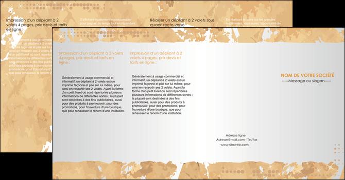 imprimer depliant 4 volets  8 pages  texture structure contexture MLGI25948