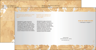 imprimer depliant 4 volets  8 pages  texture structure contexture MIF25948