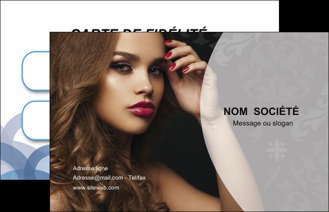 Carte de visite mod le et exemple coiffure salon salon for Salon de coiffure professionnel