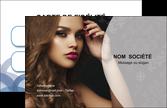 modele carte de visite centre esthetique  coiffure salon salon de coiffure MLGI25953