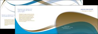maquette en ligne a personnaliser depliant 4 volets  8 pages  texture contexture structure MLGI25954