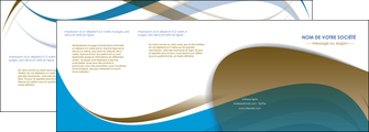 impression depliant 4 volets  8 pages  texture contexture structure MIF25956