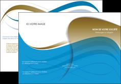 creer modele en ligne depliant 3 volets  6 pages  texture contexture structure MIF25968