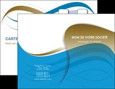 Commander carte de visite impression a chaud  Carte commerciale de fidélité papier publicitaire et imprimerie Carte de visite Double - Portrait