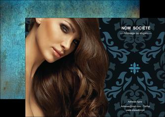 creer modele en ligne flyers centre esthetique  coiffure salon de coiffure beaute MLGI26290