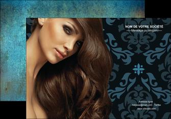realiser affiche centre esthetique  coiffure salon de coiffure beaute MLGI26294