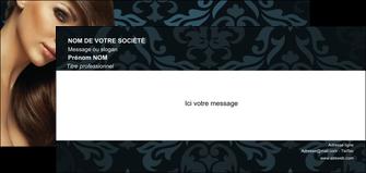 imprimerie carte de correspondance centre esthetique  coiffure salon de coiffure beaute MLGI26296