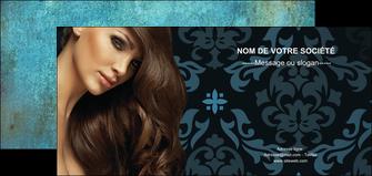 maquette en ligne a personnaliser flyers centre esthetique  coiffure salon de coiffure beaute MLGI26298