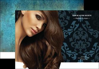 faire modele a imprimer pochette a rabat centre esthetique  coiffure salon de coiffure beaute MLGI26306