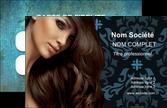 personnaliser modele de carte de visite centre esthetique  coiffure salon de coiffure beaute MLIP26308