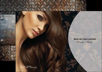 faire flyers centre esthetique  coiffure coiffeur coiffeuse MLGI26314