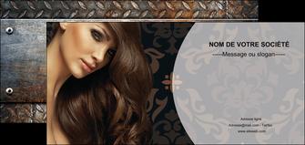 creer modele en ligne flyers centre esthetique  coiffure coiffeur coiffeuse MLGI26320