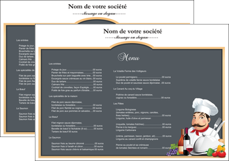 Sets de table impression en ligne et imprimerie sur internet for Set de table papier pour restaurant