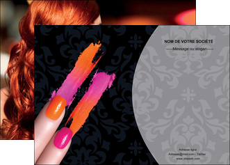 creer modele en ligne affiche cosmetique beaute ongles beaute des ongles MLGI26518