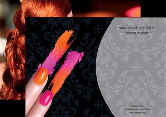 personnaliser modele de affiche cosmetique beaute ongles beaute des ongles MLGI26520