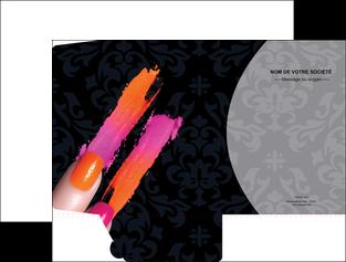 creer modele en ligne pochette a rabat cosmetique beaute ongles beaute des ongles MLGI26528