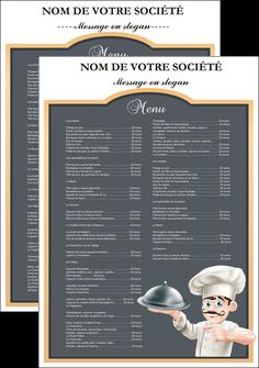 modele en ligne flyers metiers de la cuisine c MLGI26534