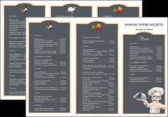 impression depliant 3 volets  6 pages  metiers de la cuisine c MLGI26538