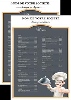 exemple affiche metiers de la cuisine c MLGI26542