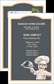 cree carte de visite metiers de la cuisine c MLGI26558