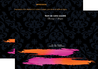exemple flyers cosmetique mode beaute salon MIF26670