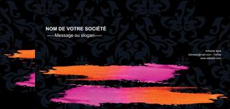 maquette en ligne a personnaliser flyers cosmetique mode beaute salon MIF26676