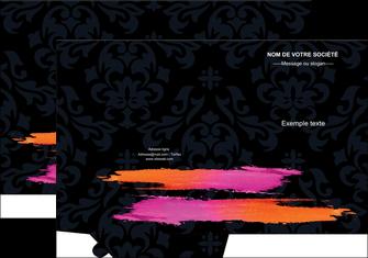 Impression Chemise / pochette à rabats Cosmétique devis d'imprimeur publicitaire professionnel Chemises à rabats -  A4 plus - Quadri recto-verso - simple rainage