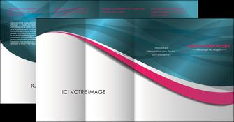 imprimerie depliant 4 volets  8 pages  texture contexture structure MLGI26716