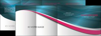 impression depliant 4 volets  8 pages  texture contexture structure MLGI26718