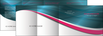 cree depliant 4 volets  8 pages  texture contexture structure MLGI26720
