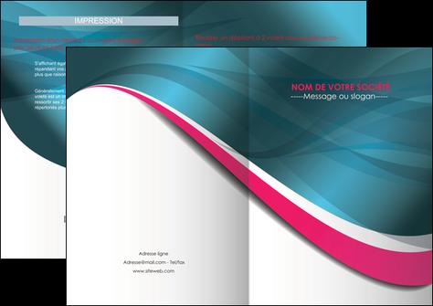 personnaliser maquette depliant 2 volets  4 pages  texture contexture structure MLGI26722