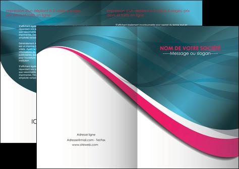 personnaliser modele de depliant 2 volets  4 pages  texture contexture structure MLGI26724