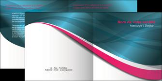 imprimer depliant 2 volets  4 pages  texture contexture structure MLGI26740