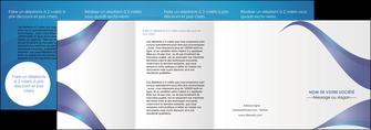 personnaliser maquette depliant 4 volets  8 pages  texture contexture structure MIF26770