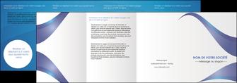 modele en ligne depliant 4 volets  8 pages  texture contexture structure MLGI26772