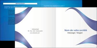 personnaliser maquette depliant 2 volets  4 pages  texture contexture structure MIF26790