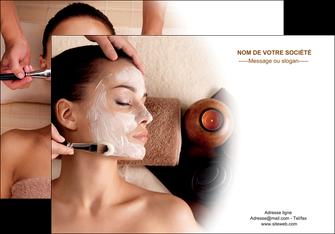 cree affiche centre esthetique  masque masque du visage soin du visage MLGI26848