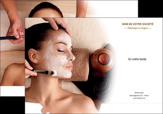 modele pochette a rabat centre esthetique  masque masque du visage soin du visage MLGI26858