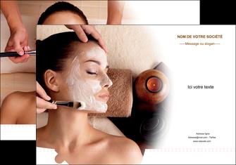exemple pochette a rabat centre esthetique  masque masque du visage soin du visage MLGI26860