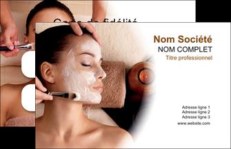 modele en ligne carte de visite centre esthetique  masque masque du visage soin du visage MLGI26862