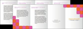 maquette en ligne a personnaliser depliant 4 volets  8 pages  texture contexture structure MLGI26898