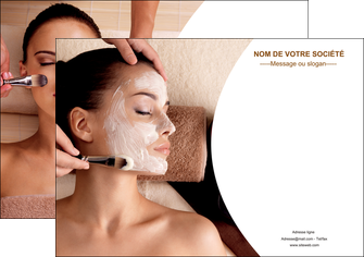 imprimer affiche centre esthetique  masque masque du visage soin du visage MLGI27016