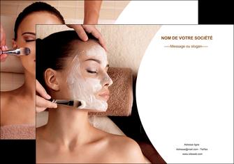 impression affiche centre esthetique  masque masque du visage soin du visage MLGI27018