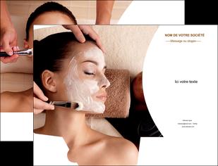 faire modele a imprimer pochette a rabat centre esthetique  masque masque du visage soin du visage MLGI27034
